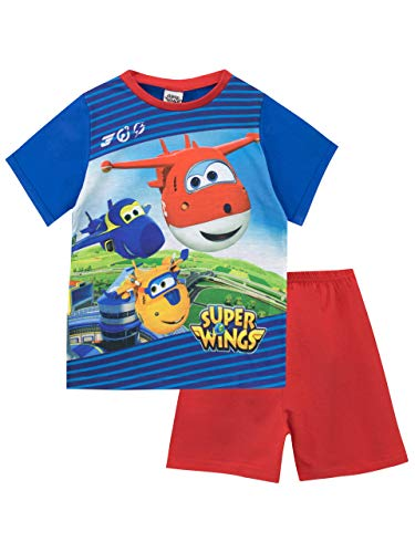 Super Wings Jungen Schlafanzug Blau 98