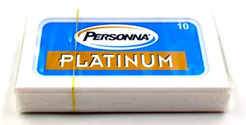 10 cuchillas de afeitar Personna Platinum (1 paquete)
