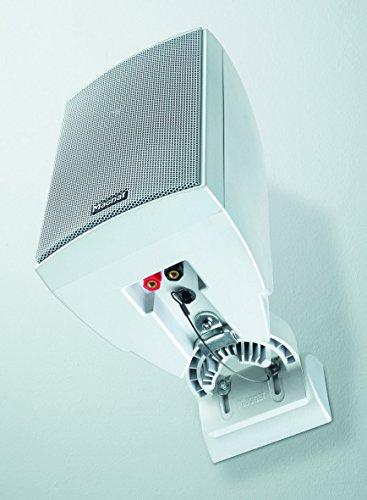 Magnat Symbol Pro 110 I Multifunktionale Musikbox mit Bassreflexgehäuse I 1 Paar 2-Wege-Lautsprecher für Regal- und Wandmontage, Farbe:Weiß