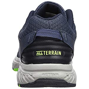 New Balance Men's 510 V4 Trail Running Shoe, NORTH SEA/RGB GREEN, 10.5 XW US
