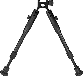 BARSKA AW11886 Picatinny Style/Weaver Style Bipod with Extendable Legs 6.5  -8    Black