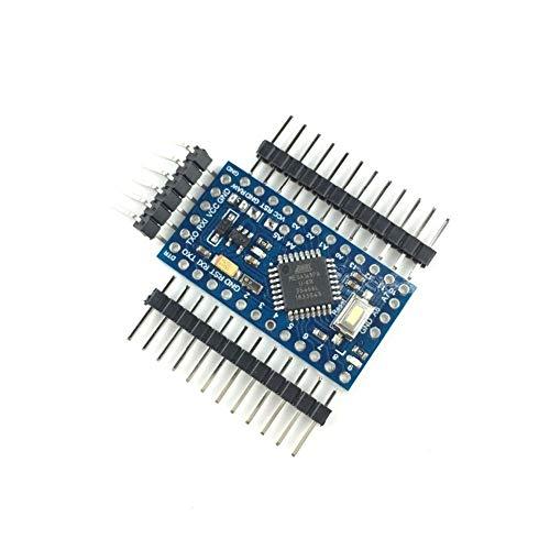 Pro Mini 168 Mini 3.3V / 8M ATMEGA168 ATMEGA168P AU-3.3V / 8 MHz for Arduino Pro Mini (Color : 1PCS)