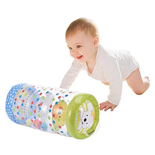 Aufblasbare Babyroller Neugeborenen Krabbelrolle Und Stehtraining - Training Baby Steps Das Perfekte Sensorische Spielzeug Für Die Frühe Entwicklungsaktivität Zentrum Des Babys- (43x24cm) / (200g)