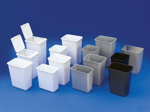 Rev-A-Shelf Replacement Waste Bin White-50 Quart, White