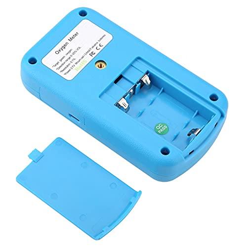 Detector de gas de oxígeno, 803 Detector de fugas de gas de alta precisión Alarma de luz y sonido liviana para planta de energía metalúrgica, química, mina, túnel, subterráneo