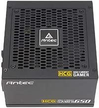 Antec 650W High Current Gamer Gold PSU, Fully Modular, Fluid Dynamic Fan, 80+ Gold, 10 Year Warranty
