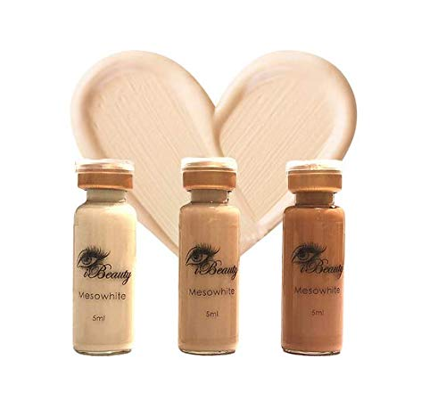 Mesowhite Serum Microneedling makeup Serum 5ml Nr. 1 White (Dark 1 Stk)