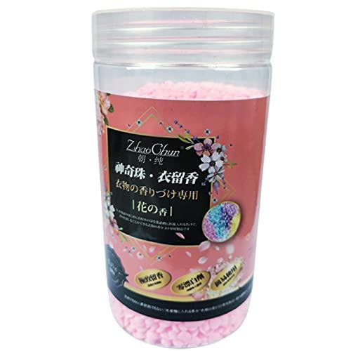 WEFH 200G Perlas de Fragancia Suavizante de Ropa Lavadora Detergente Perfume Difusor Duradero Perlas de Olor para Ropa