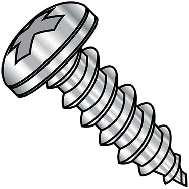 8-18X1 4 Phillips Pan Self Tapping Screw Fully AB Threaded Type Super special Cheap sale price