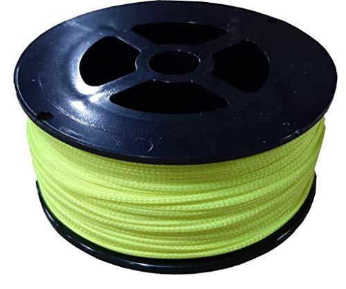 Bert's Custom Tackle Mast Line, 200-Feet/200-Pound, Hi Vis Yellow (MF3152)