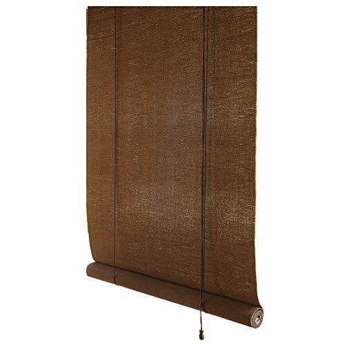 YANZHEN Persiana de bambú persianas de la Cortina de bambú Cortina Romana Ventana Sombras sombreado de elevación Gazebo Salón de té de ventilación a Prueba de Humedad, tamaño de la aduana