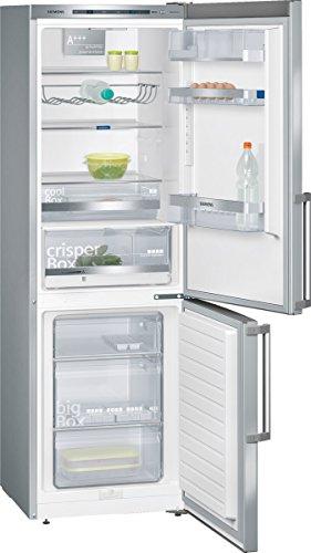 Siemens KG36EMI41 Independiente 304L A+++ Plata nevera y congelador - Frigorífico (304 L, SN-T, 38 dB, 14 kg/24h, A+++, Plata)