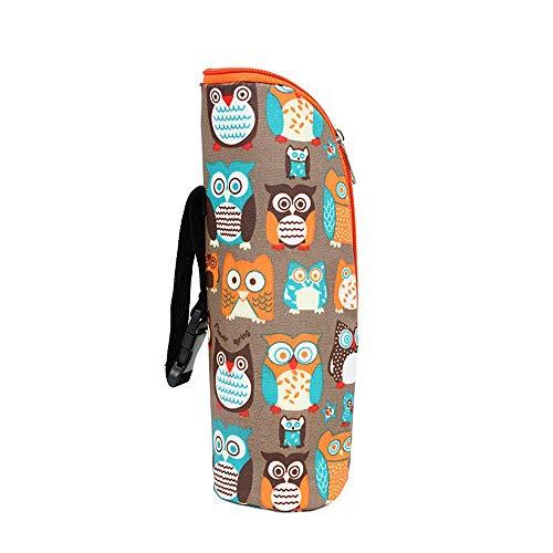 portaequipajes bolsa de almacenamiento de leche materna Beb/é a prueba de agua de alimentaci/ón t/érmica colgar de cochecito para beb/é ni/ño calentadores de biberones bolsa de asas de momia