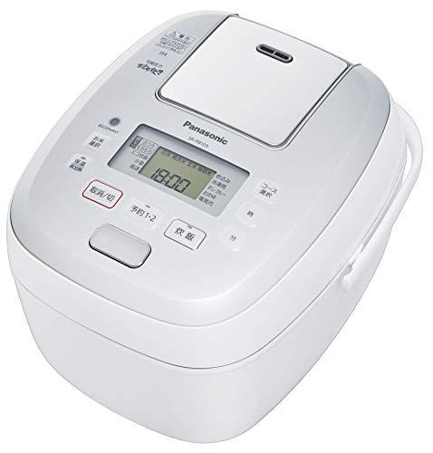 パナソニック 炊飯器 5.5合 圧力IH式 おどり炊き ホワイト SR-PB109-W