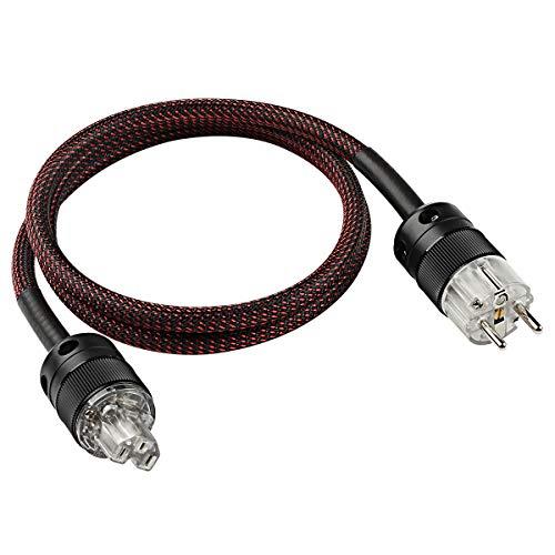 Cable de alimentación de alta fidelidad profesional Cable de amplificador de audio de CA Cable 1,5 m