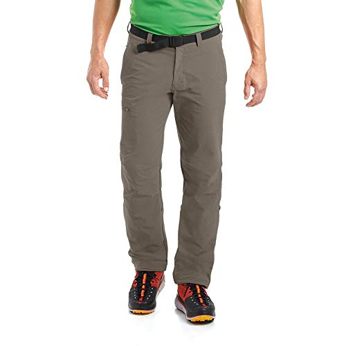 Maier Sports Nil Pantalon d'extérieur pour Homme Marron Marron Clair 46