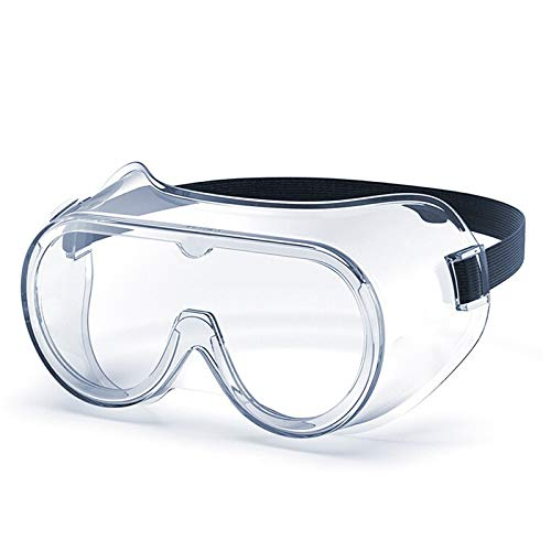 MediWeave Safety Goggles Protective Eye wear Clear Anti-Fog Eye Protection Goggles Safety (Pack of 3)