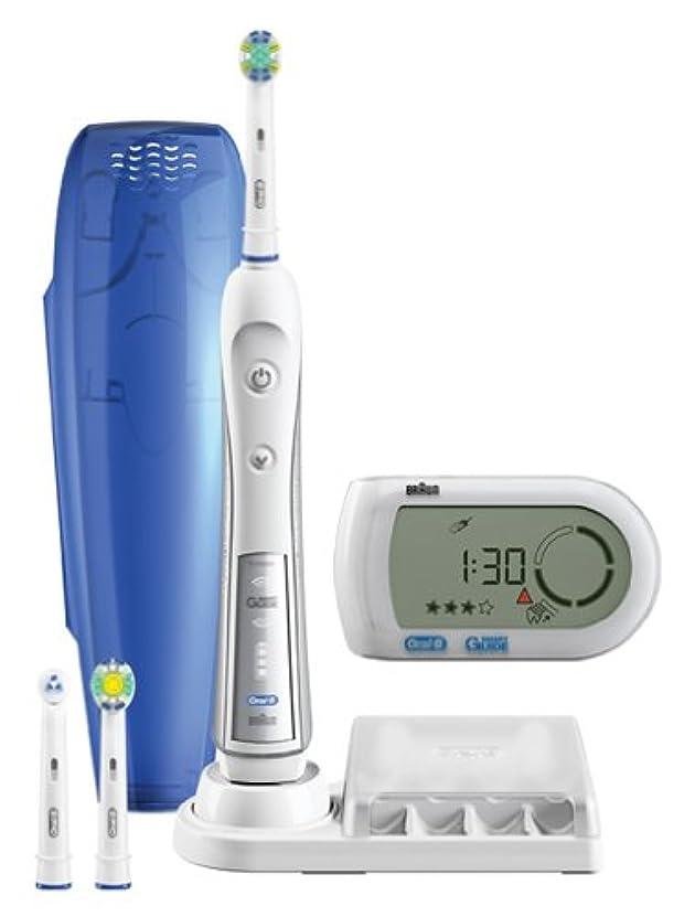 夢中科学者供給ブラウン オーラルB 電動歯ブラシ デンタプライド5000 歯磨きナビ付 D345355X