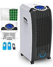3-i-1 Aircooler   8 liter   mobil luftkonditionering   klimatapparat   luftrenare   klimat   fläkt med fjärrkontroll   luftkylare   luftfuktare   klimatanläggning  