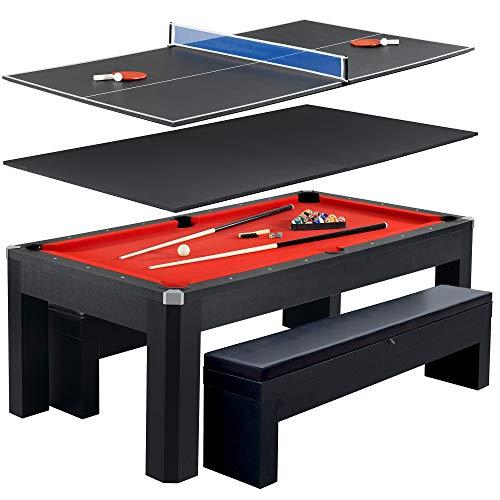 Hathaway Park Avenue 7' Pool Table Tennis