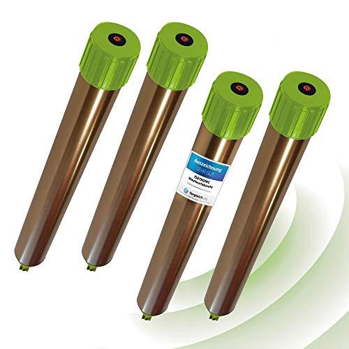 ISOTRONIC Maulwurfabwehr Vibrasonic mit ON/Off Schalter NEU mit Vibrationsmotor batteriebetrieben Wühlmausfrei Wühlmausschreck Wühlmausvertreiber Wühltierfrei Maulwurfschreck Schlangenabwehr (4)