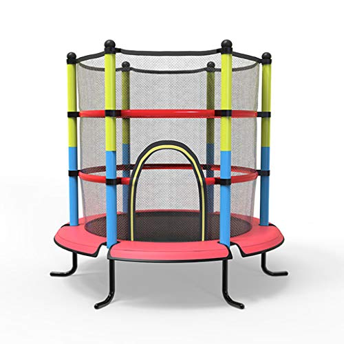 GXY trampoline-slagbed met uitgangshirts, voor binnen en buiten, kan 100 kg worden gedragen.