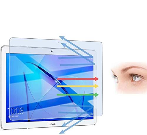 PaceBid Anti Luz Azul Protector de Pantalla Compatible con Huawei Mediapad M3 Lite 10, [Alivie la Fatiga Ocular] [Bloquea Excesivas la luz Azul Dañina & UV Rayos] [Alta Definición]