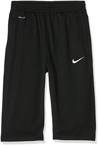 NIKE YTH Libero 3/4 Knit Pant Pantalón Deportivo Pirata, Niños, Negro/Blanco, M