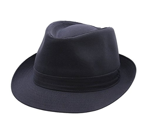 Classic Italy - Chapeau Trilby - 8 Coloris - Homme ou Femme Classic Trilby - Taille 58 cm - Marine