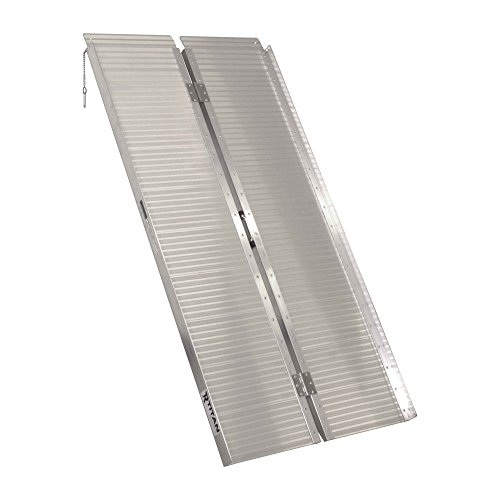 Titan Ramps Portable Wheelchair Ramp Single Fold 5 ft x 30 in 600 lb Capacity Lightweight and Easy to Transport