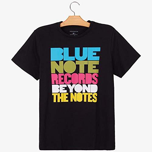 Camiseta Blue Note Records M | Preta