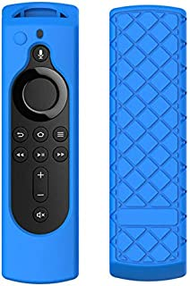 AKDSteel Useful for Amazon Fire TV Stick 4K TV Stick Remote Silicone Case Protective Cover Blue Electronic Quality Accesso...