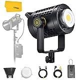 Godox UL60 60W Luz de vídeo LED silenciosa con equilibrio de luz diurna, CRI ≥ 96 TLCI ≥ 97, temperatura de color 5600 K ± 300 K para entrevistas, transmisión en línea, radiodifusión y cinematografía