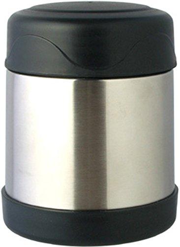 リビング 弁当箱 フード マグ スープ リゾット 果物 330ml ブラック 真空断熱 保温 保冷 H&C