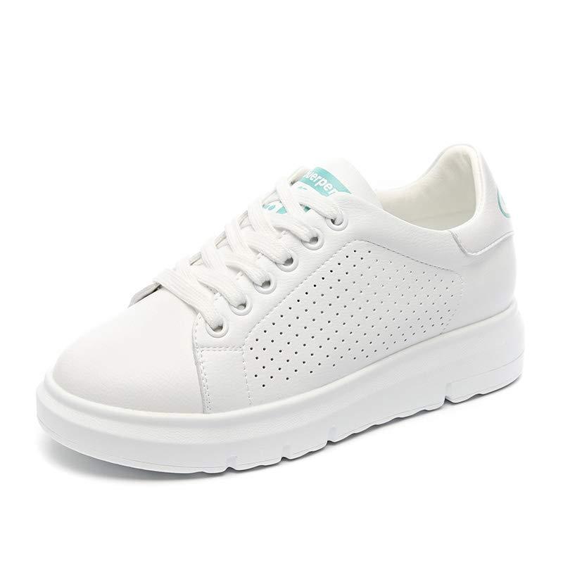 35から39ヤードの春と夏のファッションストリートシュート汎用性の高い小さな白い靴の女性の靴カジュアルホールシューズ