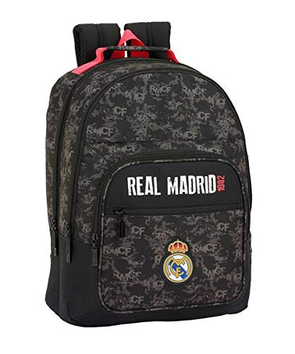 Real Madrid CF Mochila Grande Doble Adaptable a Carro