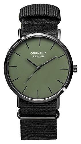 Orphelia Fashion Herren Analog Quartz Uhr Ludus mit Nylon Armband