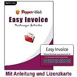 Rechnungsprogramm 'Easy Invoice' | Lizenzkarte mit Anleitung