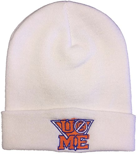 Nieuwe mannen John Cena Beanie Hoed met U (C) Zie ME Logo Wollige Materiaal Gebreide Winter