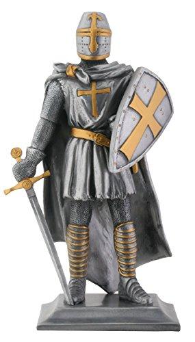 """Templar Knight Medieval Estatua Coleccionable figurine-h: 9"""""""