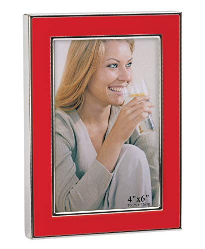 Fotolijst rood 10 x 15 cm
