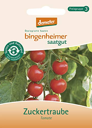 Bingenheimer Saatgut - Tomate Cocktailtomate Zuckertraube - Gemüse Saatgut / Samen