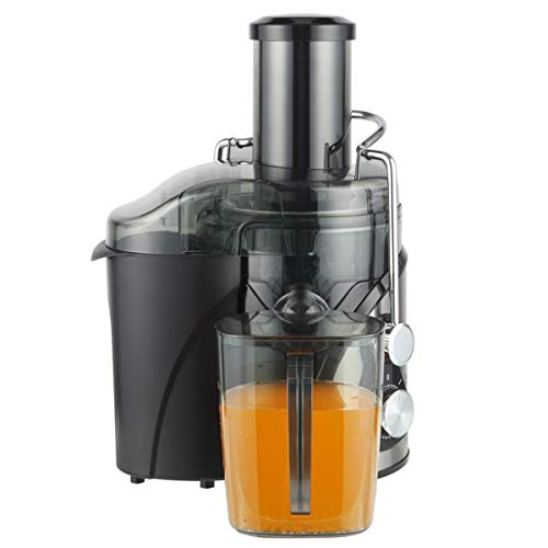 Electric Juicer Machine for Oranges and Lemons 800W Wide Mouth 3 Speed Juice Extractor for Fruits Vegetables BPA-Free Overheating Protection Function