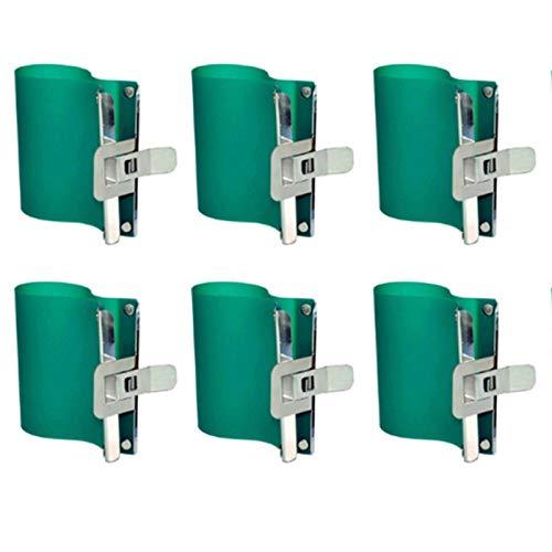 N-B 3D-Sublimationssilikon-Befestigungen, Heißpress-Druckbecher, 325 ml, spezielle Klemmen, Silikon-Fassungen, Wärmeübertragungs-Formen für Wärmeübertragung, Vakuum-Maschinen, 6 Stück