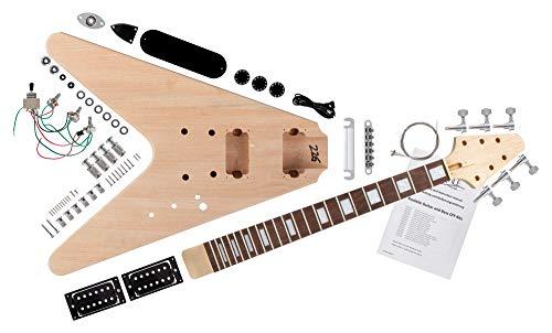 Rocktile Kit d'assemblaggio per Chitarra elettrica FV-Style