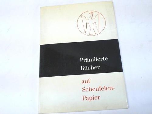 Siebzehn Bücher des Jahres 1966 auf Scheufelen-Papier