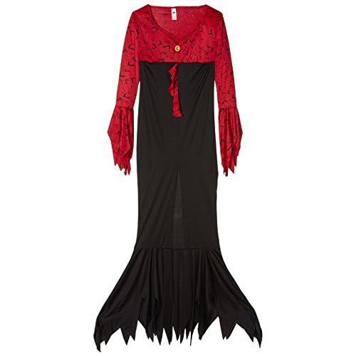 SMIFFYS Costume Regina Malefica, comprende Abito Stampato Pipistrello