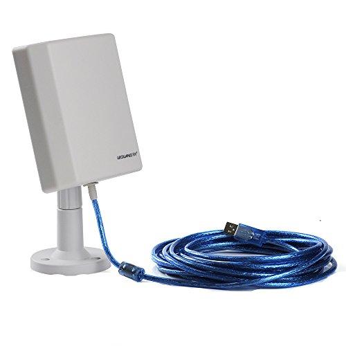 Patuoxun - Antenna universale WiFi Range Extender Booster a lunga distanza senza fili fino a 3000 m