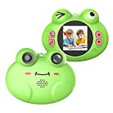 CamKing Cámara Digital para Niños, ESK5 HD720P 12MP 8X 1.54 pulgadas Pantalla...