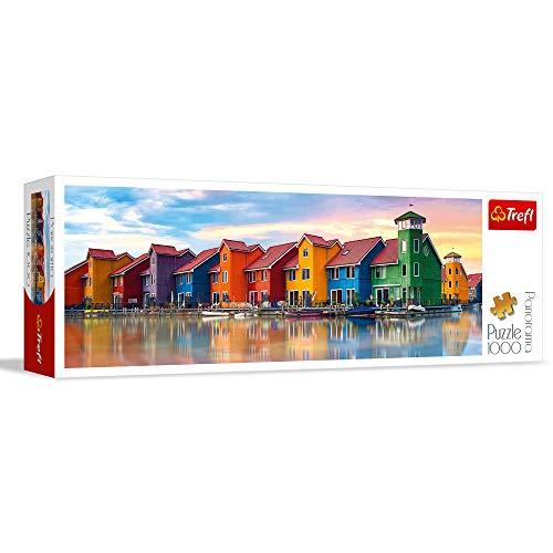 Trefl 29034 Panorama-puzzel Groningen, Nederland, 1000 stukjes, gekleurd, eenheidsmaat